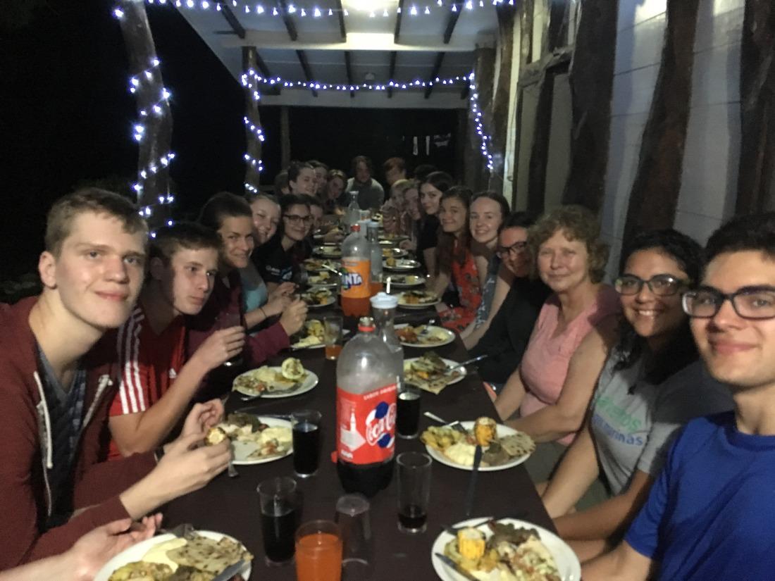 last dinner pic Beth